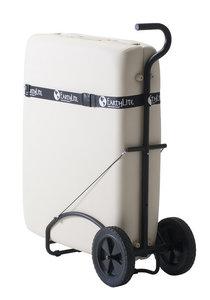Trolley voor massagetafel vervoer